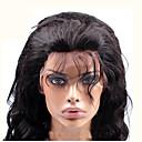 hesapli Duvar Aplikleri-Gerçek Saç Tutkalsız Tam Dantel Komple Dantel Peruk Düz Brezilya Saçı Vücut Dalgası Peruk Yan parça % 250 Saç yoğunluğu Bebek Saçlı Doğal saç çizgisi Afrp Amerikan Peruk % 100 Elle Bağlanmış Kadın's