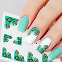 cheap RC Parts & Accessories-1 pcs 3D Nail Stickers Nail Jewelry nail art Manicure Pedicure Classic Daily / PVC(PolyVinyl Chloride)