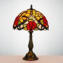 olcso Napelemes LED világítás-Tiffany / Hagyományos / Klasszikus Ív Íróasztallámpa Kompatibilitás Gyanta 110-120 V / 220-240 V