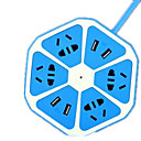 abordables Enchufes Inteligentes-Con Cable Smart usb socket