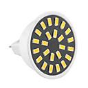preiswerte Hundekleidung-GU5.3(MR16) LED Spot Lampen MR16 24 Leds SMD 5733 Dekorativ Warmes Weiß Kühles Weiß 400-500lm 2800-3200/6000-6500K AC 220-240 AC 110-130V