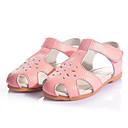 baratos Sapatos de Menina-Para Meninas Sapatos Couro Verão Sandálias para Branco / Vermelho / Rosa claro