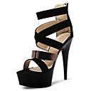 abordables Textiles para el Hogar Navideño-Mujer Zapatos Vellón / Materiales Personalizados Verano / Otoño Zapatos con luz / Zapatos del club Tacones Tacón Stiletto / Plataforma