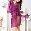 preiswerte Radtrikots-Damen Übergrössen Anzüge Uniformen & Cheongsams Besonders sexy Nachtwäsche - Gitter Gespleisst, Solide