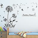 preiswerte Wand-Sticker-Tiere Stillleben Botanisch Wand-Sticker Flugzeug-Wand Sticker Dekorative Wand Sticker, Vinyl Haus Dekoration Wandtattoo Wand Glas /