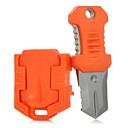 رخيصةأون أدوات تخييم & حلقات الأمان والحبال-سكاكين / Multitools حالة طوارئ, متعددة الوظائف, بقاء إلى المشي لمسافات طويلة / تخييم / الخارج - الفولاذ المقاوم للصدأ / PVC 1 pcs FURA