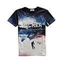 cheap Bells & Locks & Mirrors-Men's Sports Cotton T-shirt Print