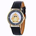 preiswerte Modische Uhren-Damen Armbanduhr Schlussverkauf / / PU Band Modisch / Kleideruhr Schwarz / Weiß / Blau / Ein Jahr / SODA AG4