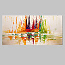 cheap Animal Paintings-Oil Painting Hand Painted - Abstract Modern Canvas