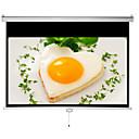 baratos Acessórios para Projetores-filmes macro autêntica projector bloqueio casa 16 9 tela de 100 polegadas