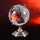 abordables Juguetes y modelos de astronomía-Globos del mundo Casas / Familia Cristal Péndulo Redondo