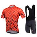 cheap Cycling Jersey & Shorts / Pants Sets-Cycling Jersey with Bib Shorts Men's Women's Unisex Short Sleeves Bike Bib Shorts Bib Tights Sweatshirt Jersey Clothing Suits Bike Wear