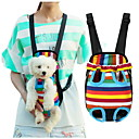 cheap Dog Clothes-Cat Dog Carrier & Travel Backpack Front Backpack Pet Baskets Stripe Portable Breathable Stripe For Pets
