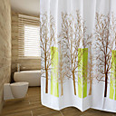 cheap Bath Organization-Shower Curtains Modern PEVA Floral/Botanical Machine Made