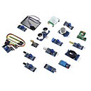 billige Hobbysett-eicoosi 16 i en sensormodul kit for Raspberry Pi 3b / 2b / b