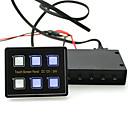 preiswerte Schalterelektronik fürs Auto-berührungsempfindliche Bildschirm LED Schalttafel w / Schaltung Steuerbox 15-poligen VGA-Kabel für Auto-LKW-Wohnwagen Boot Yacht marine