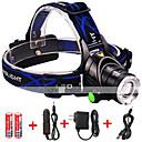 preiswerte Nachtleuchten-1600 lm LED Taschenlampen LED 3 Modus Zoomable- / Wasserfest / einstellbarer Fokus
