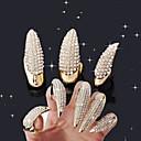 abordables Decoraciones y Diamantes Sintéticos para Manicura-3 pcs Joyas de Uñas arte de uñas Manicura pedicura Diario Glitters / Moda / Joyería de uñas