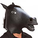 voordelige Koffie en Thee-Halloweenmaskers Dierenmasker Paardenkop Horrorthema Latex Kumi Noviteit 1pcs Stuks Unisex Volwassenen Geschenk