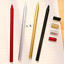 お買い得  筆記具-ペン ペン ゲルのペン ペン, プラスチック レッド ブラック ブルー インク色 For 学用品 事務用品 のパック