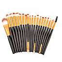 preiswerte Make-up-Pinsel-Sets-20pcs Makeup Bürsten Professional Bürsten-Satz- / Rouge Pinsel / Lidschatten Pinsel Künstliches Haar / Kunstfaser Pinsel Tragbar / Für
