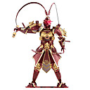 billige Kostyme og utkledning-Sun WuKong 3D-puslespill Metallpuslespill Modellsett 1 pcs Kriger Apekonge Originale utsøkt Gutt Jente Leketøy Gave