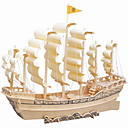 cheap 3D Puzzles-Ancient Wooden Ship Simulation Three-dimensional Puzzle DIY Educational Toys
