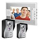 billige Dørtelefonssystem med video-480*234 90 CMOS Dørklokkesystem Tilkoblet Multifamilie Video Ringeklokke