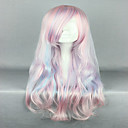 cheap Toy Airplanes-pink cosplay wig sexy hair 80cm long deep wave synthetic quality lolita wig costume party wig Halloween