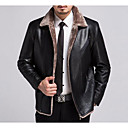 cheap Car Fog Lights-Men's Coat - Solid Colored, Basic Shirt Collar