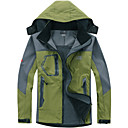 cheap Footwear & Accessories-Men's Hiking Fleece Jacket Outdoor Winter Waterproof Thermal / Warm Windproof Wearable Softshell Jacket Top Camping / Hiking