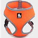 abordables Collares para Hombre-Perro Bozales Ajustable / Retractable Transpirable Chaleco Un Color Malla Marrón Rojo Verde Azul Rosa