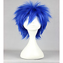 cheap Costume Wigs-Synthetic Wig / Cosplay & Costume Wigs Straight Synthetic Hair Blue Wig Women's Short Capless