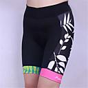 זול כפפות רכיבה על אופניים-בגדי ריקוד נשים מכנס קצר לרכיבה אופניים שורטים (מכנסיים קצרים) מרופדים / תחתיות נושם, 3D לוח, ייבוש מהיר קלאסי Coolmax®, לייקרה בגדי רכיבת אופניים / עיצוב אנטומי / גמישות גבוהה / עיצוב אנטומי