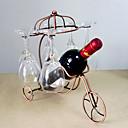 رخيصةأون صفوف الخمر-رفوف النبيذ حديد زهر, خمر إكسسوارات جودة عالية خلاقforبرواري سم 0.15 كلغ 1PC