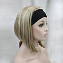 cheap Synthetic Half Wigs-Synthetic Wig Straight Bob Haircut Synthetic Hair Wig Women's Short Capless