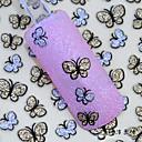 preiswerte Modische Armbänder-2pcs Nagel-Kunst-Aufkleber Wassertransfer Abziehbilder Make-up kosmetische Nail Art Design