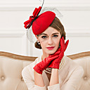 cheap Party Headpieces-Wool / Feather / Net Fascinators / Hats with 1 Wedding / Special Occasion / Casual Headpiece