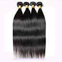olcso Természetes színű póthajak-Perui haj Egyenes Szűz haj Az emberi haj sző 4 csomópont 8-30 hüvelyk Emberi haj sző Hot eladó Fekete Human Hair Extensions