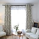 זול וילונות חלון-מותאם אישית עשה וילונות האפלה ידידותי וילונות שני לוחות בז '/ חדר שינה