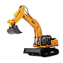 cheap Toy Cars-RC Car HUINA 1510 11 Channel 2.4G Excavator / Construction Truck 10 km/h KM/H Remote Control / RC / Rechargeable / Electric