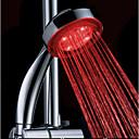abordables Rociador Ducha LED-accionado por agua cambio de color abs llevado ducha de mano de alta calidad