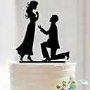 preiswerte Tortenfiguren & Dekoration-Tortenfiguren & Dekoration Garten Asiatisch Blumen Schmetterling Klassisch Märchen rustikales Theme Acryl Hochzeit Jahrestag Brautparty