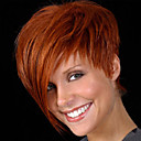cheap Synthetic Capless Wigs-popular hot european celebirty wear wig with side bang heat resistant new short brown synthetic wig for women party wig