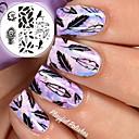 abordables Estampados para Uñas-arte de uñas Clásico Alta calidad Diario Nail Art Design