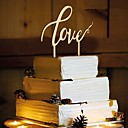 baratos Decorações para Casamento-Aniversário / Festa de Casamento Madeira / Mistura de Material Decorações do casamento Tema Clássico Primavera / Verão / Outono