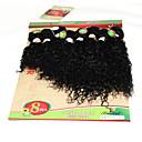 billige En pakke hår-Brasiliansk hår Krøllet / Dyb Bølge / Jerry Krølle Jomfruhår Nuance Nuance Menneskehår Vævninger Menneskehår Extensions