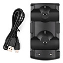 billige PS3-tilbehør-Lader Til Sony PS3 ,  PlayStation Move Lader Metall / ABS 1 pcs enhet