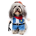 halpa Koiran vaatteet-Kissa Koira Asut Koiran vaatteet Farkut Sininen Puuvilla Teryleeni Asu Lemmikit Miesten Naisten Sievä Kantri Cosplay