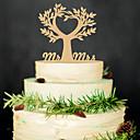 abordables Decoraciones de Boda-Cumpleaños / Fiesta de Boda Madera Material Mixto Decoraciones de la boda Tema Clásico Invierno Primavera Verano Otoño Todas las